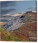 Cold Day On The Blue Ridge Canvas Print