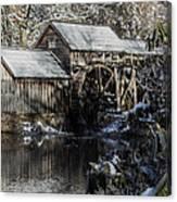 Winter Mill Canvas Print