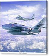 Cold War Sentinels Canvas Print