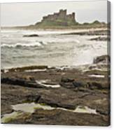 Cold Waves Of Northumberland Canvas Print