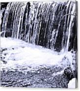 Cold Winter Falls Canvas Print