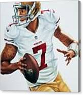 Colin Kaepernick Canvas Print