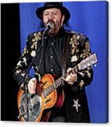 Colin Linden Of Blackie And The Rodeo Kings Canvas Print