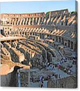 Coliseum 11 Canvas Print