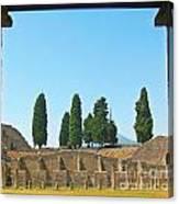 Coliseum At Pompeii Canvas Print