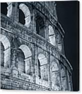 Colosseum Before Dawn Canvas Print