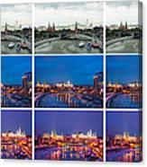 Collage - Kremlin View - Featured 3 Canvas Print