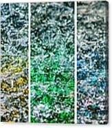 Collage Liquid Rainbow 1 - Featured 3 Canvas Print