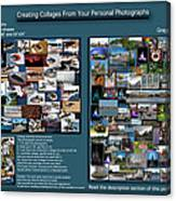 Collage Photography Services Canvas Print