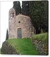 Colle Di Compito - Lucca -tuscany Canvas Print