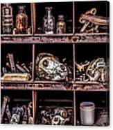Collection At Techatticup Gold Mine-alt Process Canvas Print