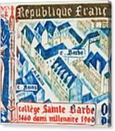 College Of St. Barbe 1460-1960 Half A Millennium Canvas Print