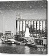 Collingwood Terminals In Old Days Canvas Print