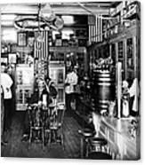 Collins Pharmacy, 1914 Canvas Print