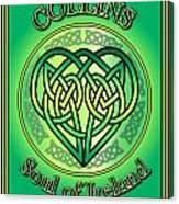 Collins Soul Of Ireland Canvas Print