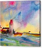 Collioure Impression 01 Canvas Print