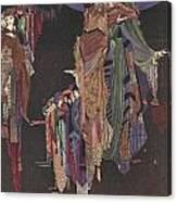 Colloquy Of Monos And Una Canvas Print