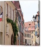 Colmar Small Street Canvas Print