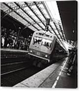 Cologne Trainstation Canvas Print