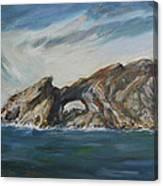 Colombretes Island II Canvas Print