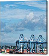 Colon Container Terminal, Panama Canal Canvas Print
