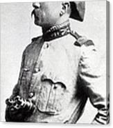 Colonel Theodore Roosevelt 1898 Canvas Print