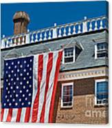 Colonial Building  Canvas Print
