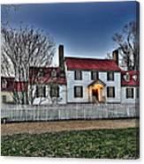 Colonial Williamsburg George Tucker House Canvas Print