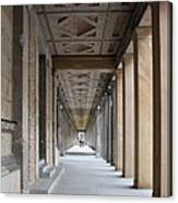 Colonnade Neues Museum Berlin Canvas Print