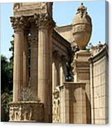 Colonnades Palaces Of Fine Arts Canvas Print