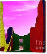 Color At Quarai  Canvas Print
