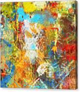 Color Burst #1 Canvas Print