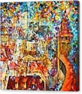 Color Castle Canvas Print