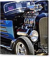 Color Chrome 1932 Black Ford Coupe Canvas Print