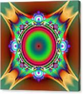 Color Cross Canvas Print