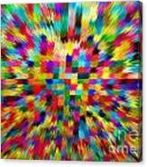 Color Explosion I Canvas Print