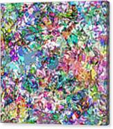 Color Filled Abstract Canvas Print