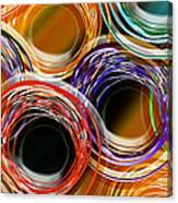 Color Frenzy 7 Canvas Print