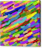 Color Hatch Highway Canvas Print