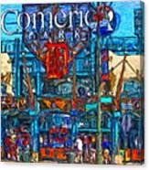 Color In Comerica Canvas Print