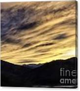 Color In The Sky Canvas Print