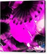 Color Infared Glass Flowers Canvas Print