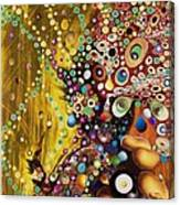 Color Intoxication Remix Canvas Print