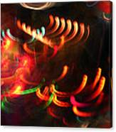 Color Light Motion Canvas Print