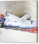 Color Nude #1 Canvas Print