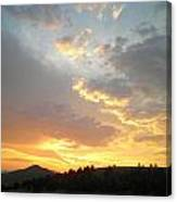 Color Of Sunset  Canvas Print