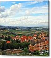 Color Of Tuscany Canvas Print