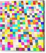 Color Quilt Canvas Print