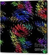 Color Spin Canvas Print