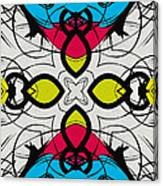 Color Symmetry 3 Canvas Print
